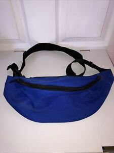 Blue Shoulder Crossbody Bum Bag Waist Festival Man Belt