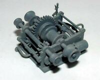 Marine Steam Winch MB1d UNPAINTED OO Scale Langley Models Kit 1/76 Boats Metal