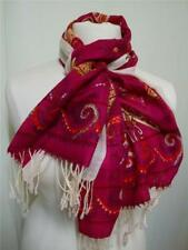Unbranded Paisley 100% Wool Scarves and Wraps for Women