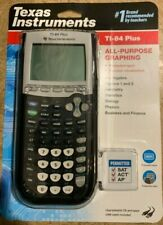 New ListingTexas Instruments Ti-84 Plus Graphing Calculator - Black