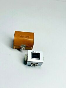 Argus Leica /Contax Variable Turret Finder Hot shoe 35mm/ 50mm/100mm Lens Bright