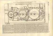 1887 motori a tripla espansione delle SS Oroya piano Barrow COSTRUZIONI NAVALI