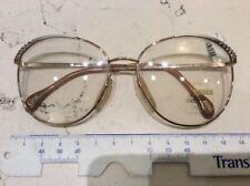 Zeiss Carat 6602 54-15 occhiale vista donna vintage nuovo colore oro
