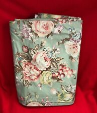 Ralph Lauren Charlotte Full Flat Bed Sheet - Pink Roses Floral Green