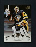 2018-19 Upper Deck UD Series 1 Base #145 Matt Murray