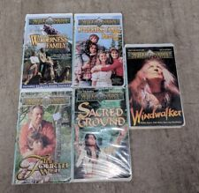 THE WILDERNESS FAMILY Lot of 5 VHS Videos Adventures Part 2 WINDWALKER Sacred +