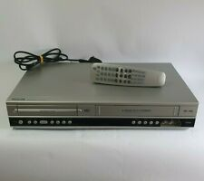 Philips DVP 3055V DVD / VHS Player w/Official Remote TESTED & WORKING