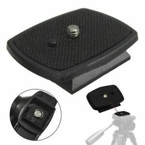 UK Tripod Quick Release Plate Screw Adapter Mount Head F Digital Camera DSLR SLR