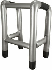 New Blow-up Walking Stick Inflatable Zimmer Frame Fun Joke Fancy Dress Party UK