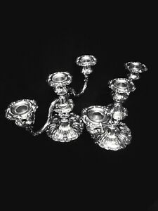Reed & Barton Francis I 1st Sterling Silver Candelabra Set. 🎇