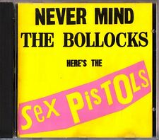 Never Mind the Bollocks: Here's Sex Pistols 1977 Punk Classic CD (1993) Anarchy