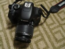 Very Nice Canon EOS T3i 600D Kiss X5 18MP Digital SLR Camera + 18-55mm IS Lens