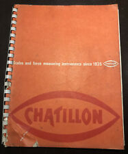 Chatillon Scales Catalog 200C