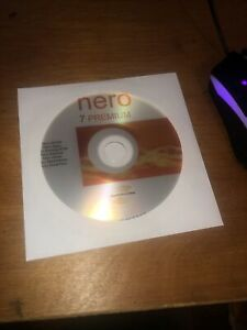 Nero 7 Premium CD and Activation key, With download to install instantly