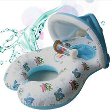 New Safe Inflatable Mother Baby Swim Float Raft Kid's Chair Seat Play Ring Pool