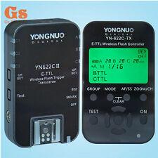 Yongnuo YN-622C-TX controller + 1PCS YN-622C II E-TTL Transceiver for canon