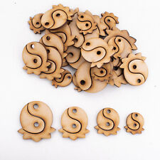 Wooden MDF Shapes Tin Yang Craft Scrapbooking Embellishments Card Decoration
