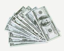 1440 Pcs Paper Play Money Casino School Kids Cash Register
