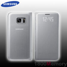 Samsung Galaxy S7 LED View Cover - Silver