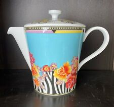 """Rosenthal Versace """"Hot Flowers' Teapot and Lid"""