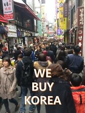 We Buy from Korea Korean Merchandise CD Line Kakao K-pop Cosmetics BTS Album