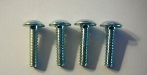 4 IKEA Silver Finish Bolts Screws Part # 100167 / 128708