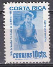 COSTA RICA   JAAR 1981 NR. Y&T 350 ° (L11)