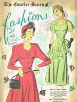 1940s Rare 1948 Vintage Mail Order Sewing Pattern Catalog 40pg Ebook on CD