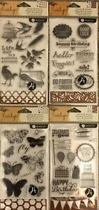 Hampton Art Vintologie STAMP & STENCIL LOT to pick from