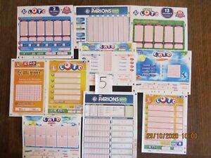 tickets grilles loto francaise des jeux FDJ