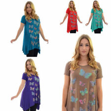 Plus Size Casual Animal Print Short Sleeve Tops & Blouses for Women
