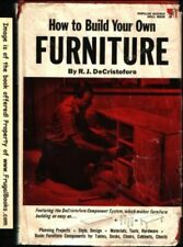 B0007HQACI How to build your own furniture (Popular Science skill book)