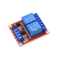 24V 2-way Relay Module With Isolation Optocoupler high / low Level Trigger