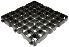 40LG 5 m² Rasengitter Paddockplatten 50x50x4 cm Paddockplatte Rasengitterplatten