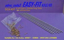 EASY-FIT RICAMBIO ASSALE KIT 2mm per DINKY CORGI Spot On AUTO FURGONE CAMION dca-kit
