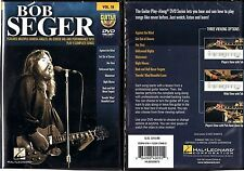 Hal Leonard Bob Seger - Guitar Play-Along DVD Volume 18