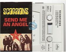 SCORPIONS cassette K7 tape SEND ME AN ANGEL france french SINGLE