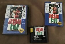 COMPLETE GAME - Jordan vs Bird Sega Genesis AUTHENTIC TESTED - FREE SHIPPING