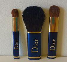 Christian Dior 3 pcs mini Makeup Brush Set, Brand New Sealed!