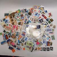 Job Lot Loose Mixed Worldwide and Christmas Postage Stamps - 500+ Collection