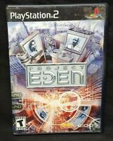 Project Eden  - PS2 Playstation 2 Game Tested Working Complete
