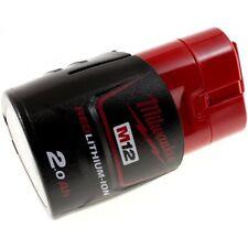 Batería para Milwaukee Atornillador C12 D original 12V 2000mah/24wh Li-Ion rojo