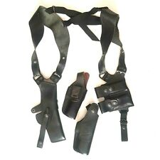 Israel Police Equipment shoulder holsters pouches Front Line Leather