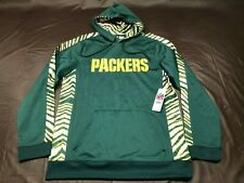 New with tags, Green Bay Packer Size Medium Zubaz hooded sweatshirt