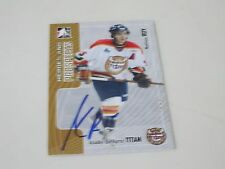 MATHIEU ROY AUTOGRAPHED 2006 IN THE GAME HEROES AND PROSPECTS CARD