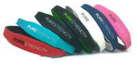 Lifestrength Purestrength  Healthy Wristband Negative Ion Infused Oxygen Ionic