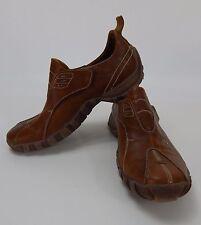 Mens Bull Titaniusi Brown Leather Slip On Shoes  Sz 10