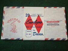 Original American Vietnam War Air Mail Envelopes Sold Individually.