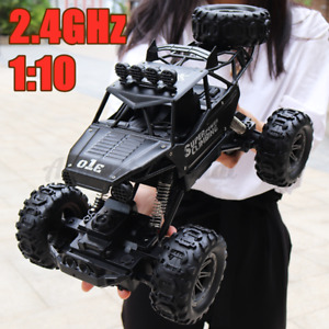 1:10 4WD RC Car Monster Truck Off-Road Vehicle 2.4G Remote Control Kids Gift AU