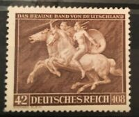GERMANY 3rd REICH 1941 Mi.780 Sc B192  Brown Ribbon Amazons Mint NH